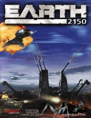 Earth 2150 cover