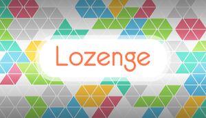 Lozenge cover