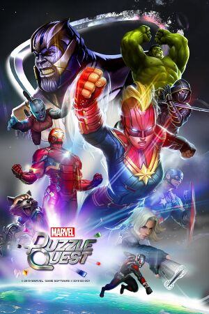 Marvel Puzzle Quest cover