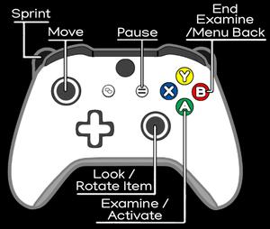 XInput layout.