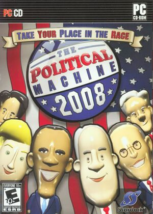The Political Machine 2008 cover