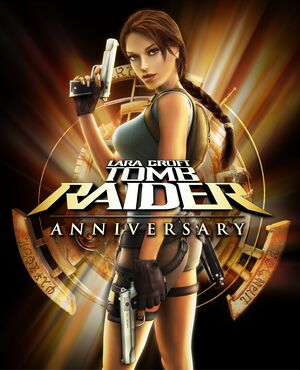 Tomb Raider: Anniversary cover