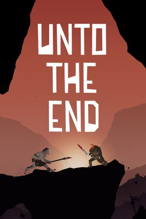 Unto the End cover