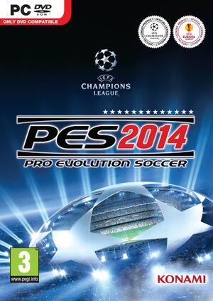 Pro Evolution Soccer 2014 cover