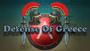 Defense of Greece TD cover