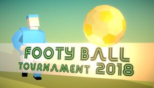 Footy Ball Tournament 2018 cover