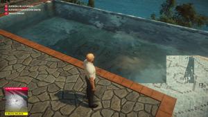 Example of Season 1 water rendering issue