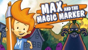 Max and the Magic Marker cover