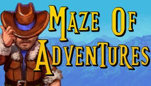 Maze of Adventures cover