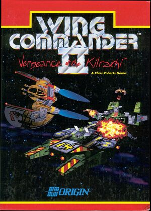 Wing Commander II: Vengeance of the Kilrathi cover