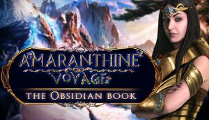 Amaranthine Voyage: The Obsidian Book cover