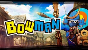 BOW MAN cover
