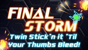 Final Storm cover