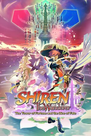 Shiren the Wanderer: The Tower of Fortune and the Dice of Fate cover