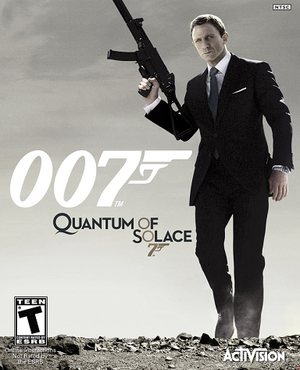007: Quantum of Solace cover
