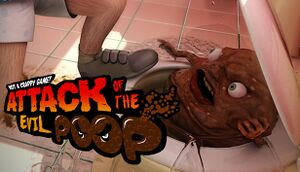 ATTACK OF THE EVIL POOP cover