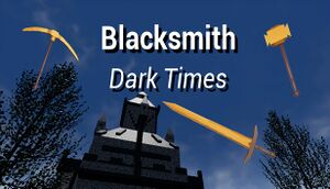 Blacksmith: Dark Times cover