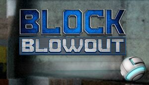 Block Blowout cover