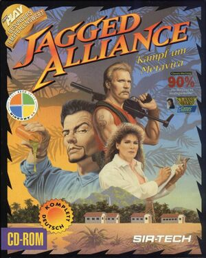 Jagged Alliance cover