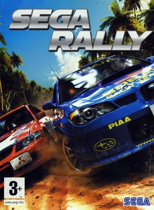 Sega Rally Revo cover