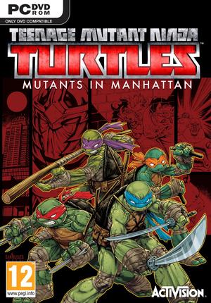 Teenage Mutant Ninja Turtles:Mutants in Manhattan cover