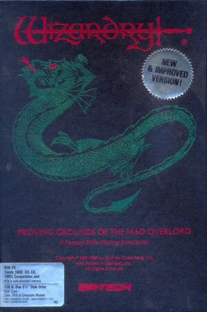 Wizardry: Proving Grounds of the Mad Overlord cover