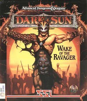 Dark Sun: Wake of the Ravager cover