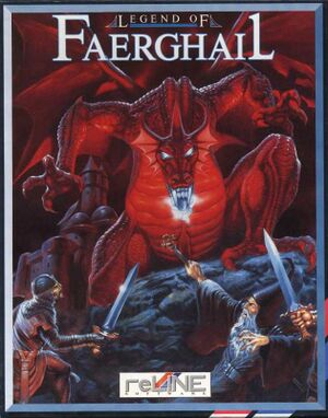 Legend of Faerghail cover