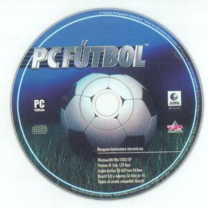 PC Fútbol 2005 cover