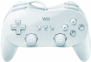 Wii Classic Controller Pro.