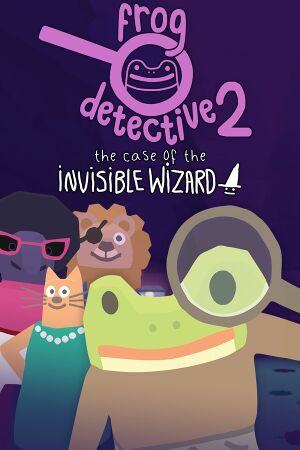 Frog Detective 2: The Case of the Invisible Wizard cover