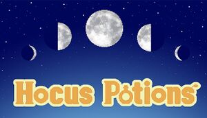 Hocus Potions cover