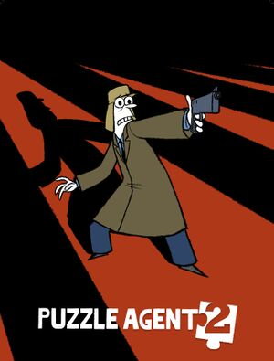 Puzzle Agent 2 cover