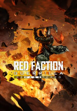 Red Faction Guerrilla Re-Mars-tered cover