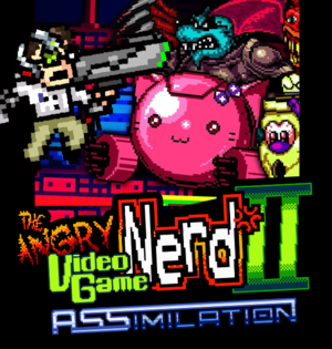 Angry Video Game Nerd II: ASSimilation cover