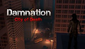 Damnation City of Death cover