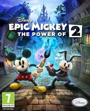 Epic Mickey 2: The Power of Two cover
