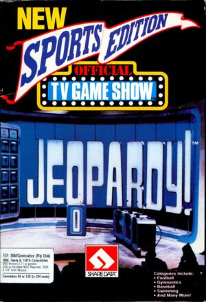 Jeopardy! New Sports Edition cover