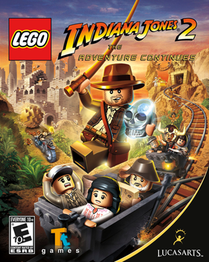 Lego Indiana Jones 2:The Adventure Continues cover