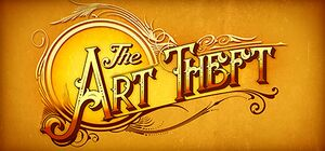 The Art Theft by Jay Doherty cover