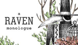 A Raven Monologue cover