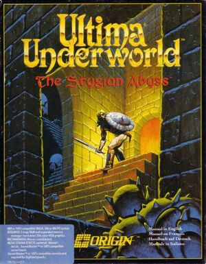 Ultima Underworld: The Stygian Abyss cover