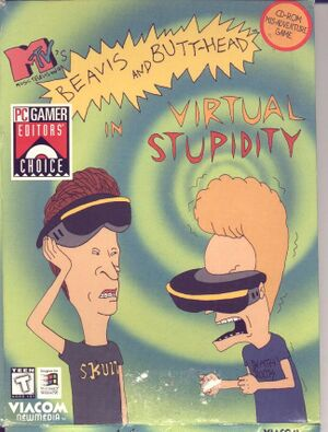 Beavis and Butt-Head in Virtual Stupidity cover