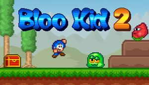 Bloo Kid 2 cover