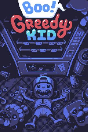 Boo! Greedy Kid cover
