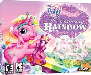 My Little Pony: Crystal Princess - The Runaway Rainbow cover