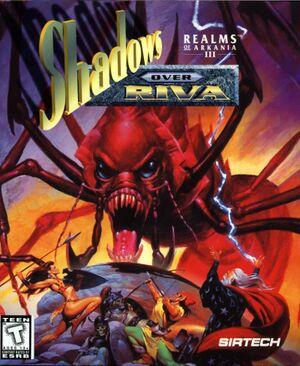 Realms of Arkania III: Shadows over Riva cover