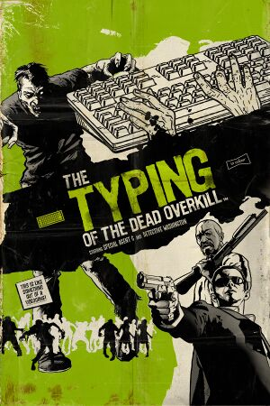 The Typing of The Dead: Overkill cover