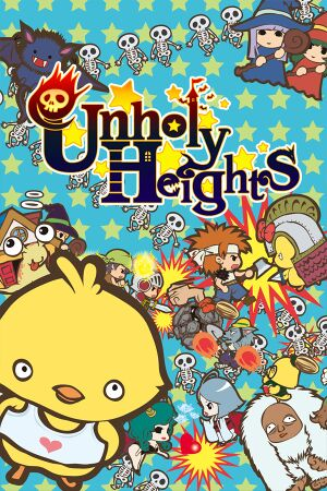 Unholy Heights cover