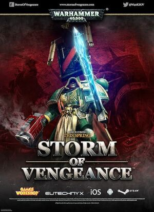 Warhammer 40,000: Storm of Vengeance cover